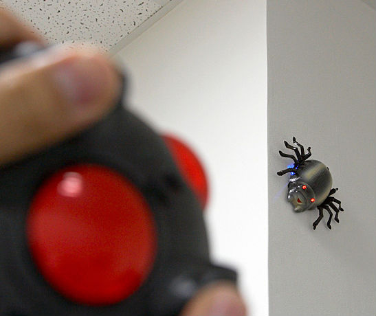 Wall Climbing R/C Insect