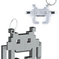 Space Invaders Multi-Tool Keychain