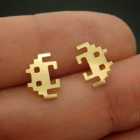 Space Invaders Earrings