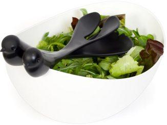 Sparrow Salad Bowl Set