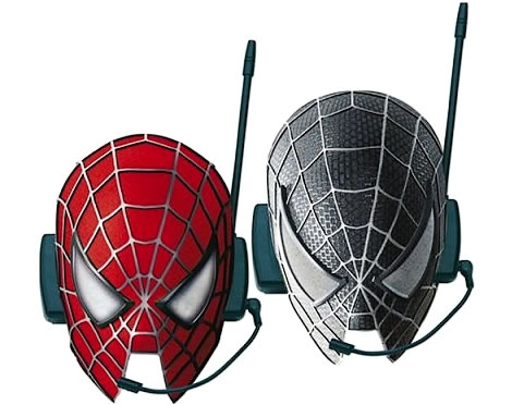 Spider-Man Intercom Masks