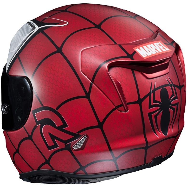 Spider man motorcycle helmet - Spider man moto ...