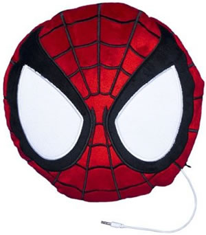 Spider-Man Speaker Pillow