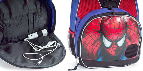 Spider-Man Boombox Backpack