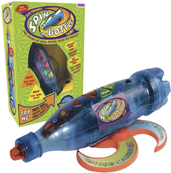 Electronic Spin the Bottle