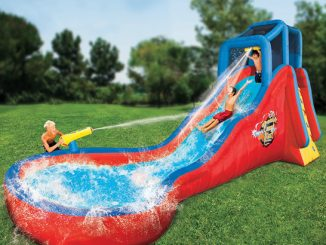 Splashing Soaker Slide