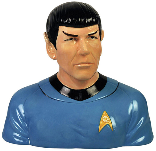Spock Cookie Jar