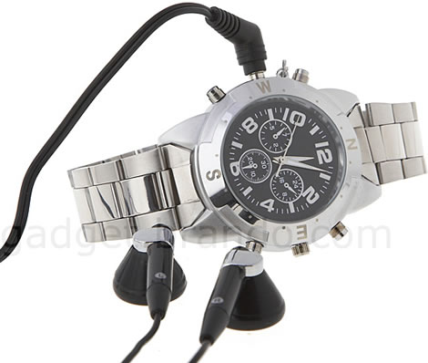 Spy Recording Watch