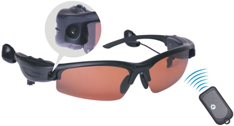1.3 Megapixel Spy Camera Sunglasses