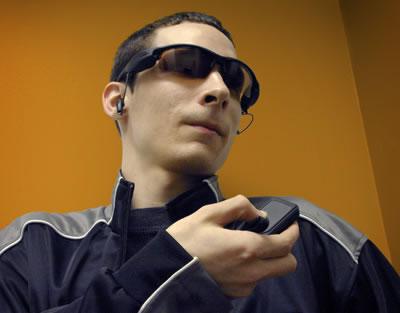 1.3 Megapixel Spy Camera Sunglasses