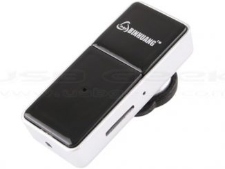 Spy Camera Bluetooth Headset