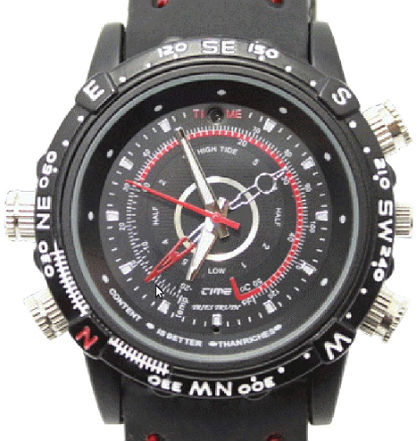 Waterproof Spy Watch Camera
