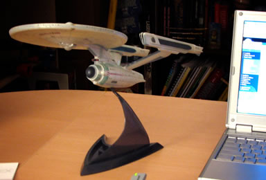 Star Trek TWOK Enterprise