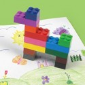 Stack-A-Doodle Fred Lego Crayons