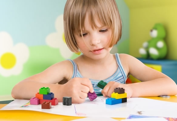 Stack-A-Doodle Stackable Lego Block Crayons