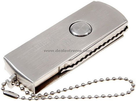 Stainless Steel 2GB USB Drive