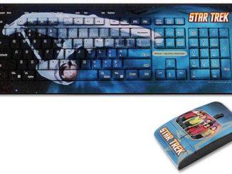Star Trek Crew Keyboard/Mouse
