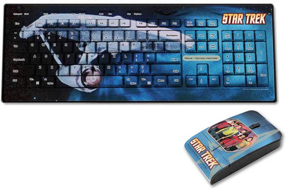 Star Trek Crew Keyboard/Mouse