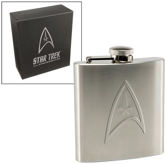 Star Trek Stainless Steel Hip Flask