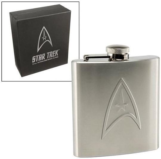 Star Trek Stainless Steel Hip Flask