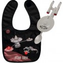 Star Trek Enterprise Baby Spoon and Bib