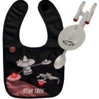 Star Trek Enterprise Baby Spoon and Bib