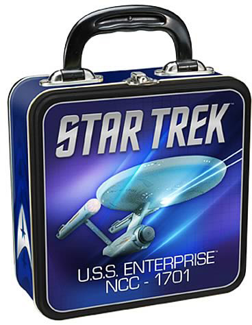 Star Trek USS Enterprise Tin Tote