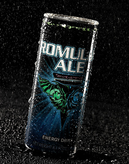 Star Trek Romulan Ale Energy Drink
