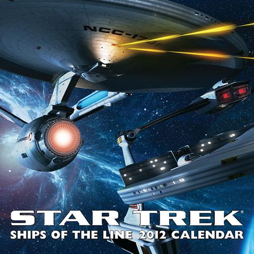 Star Trek Ships of the Line 2012 Calendar