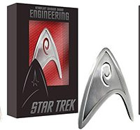 Star Trek Starfleet Badge Prop Replicas