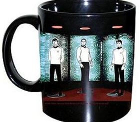 Star Trek Transporter Coffee Mug