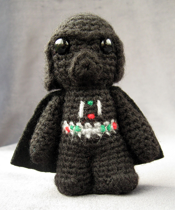Superhero Amigurumi Pattern Free : Star Wars Amigurumi Darth Vader