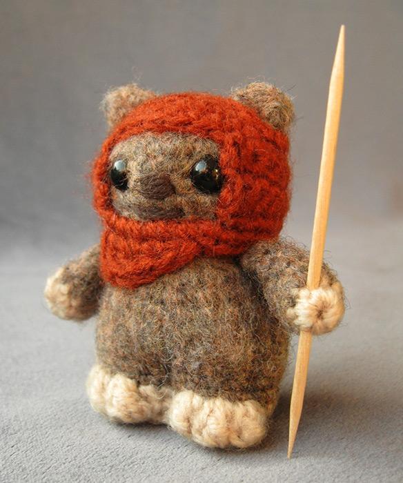 Amigurumi Star Wars Crochet Patterns : Cute star wars amigurumi handmade stuffed animals