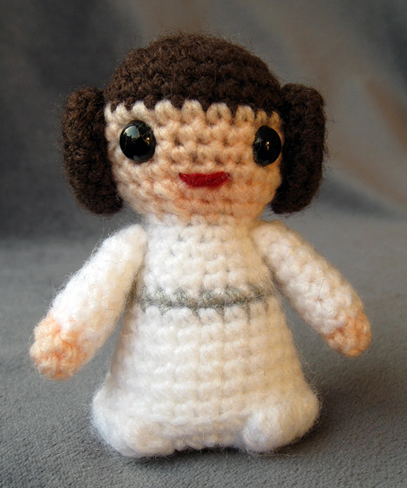 Amigurumi Snowman Pattern : Cute Star Wars Amigurumi (Handmade Stuffed Animals)