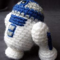 Star Wars Amigurumi R2-D2