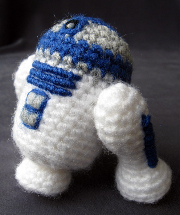 Free Crochet Pattern Star Wars : Cute Star Wars Amigurumi (Handmade Stuffed Animals)