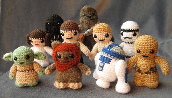 Amigurumi Small Ball Pattern : Cute Star Wars Amigurumi (Handmade Stuffed Animals)