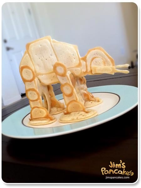 Star Wars AT-AT Pancake