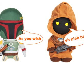 Star Wars Talking 9-Inch Plush Jawa and Boba Fett