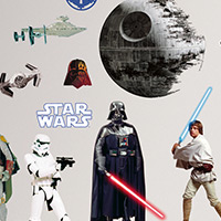Star Wars Classic Wall Decals