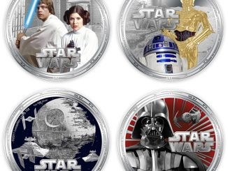 Star Wars Collectible Silver Coins