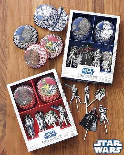 Star Wars Cupcake Decorating Kits