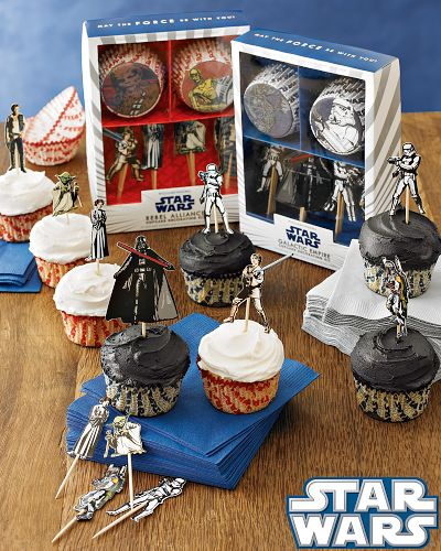 Star Wars Galactic Empire Cupcake Decorating Kit
