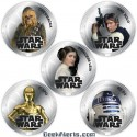 Star Wars Legal Tender Coins