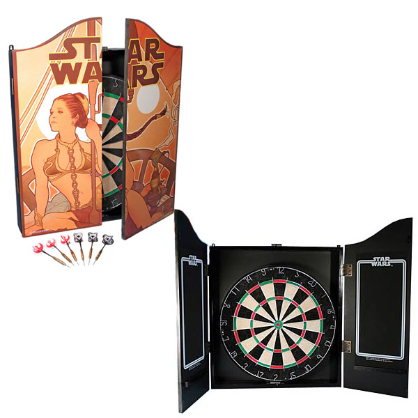 star wars leia dart board