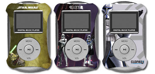 Star Wars: The Clone Wars Digital 1GB MP3 Player (with changing face plates)