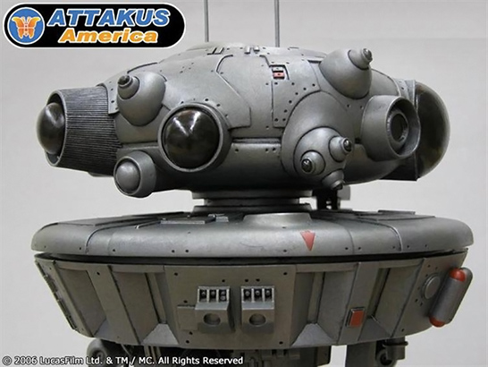 Star Wars Probe Droid Sculpture