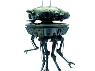 Star Wars Probe Droid Statue