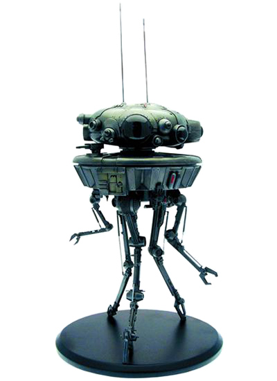 Star Wars Probe Droid Statue