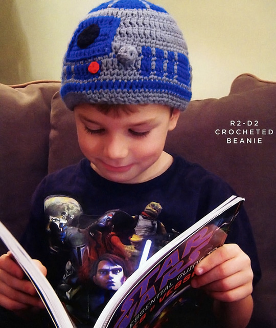 Star Wars R2-D2 Crocheted Beanie
